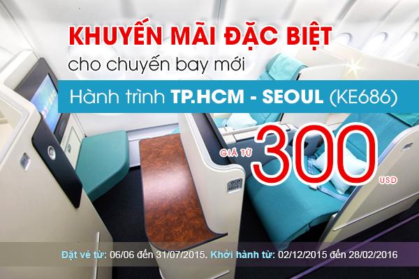 Đặt mua vé máy bay đi Seoul, Hàn Quốc giá rẻ