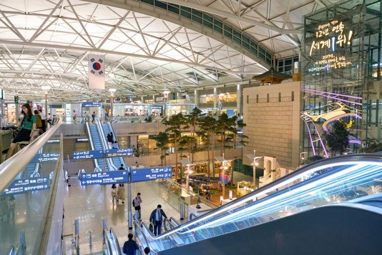 vé máy bay đi seoul korean air