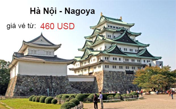 Chốt nhanh vé máy bay đi Nagoya ưu đãi Korean Air từ 460 USD