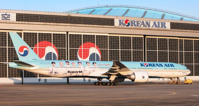 Đặt vé máy bay Korean Air
