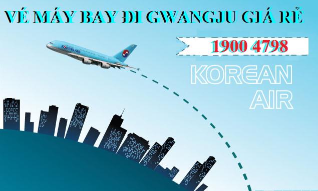 Vé máy bay đi Gwangju