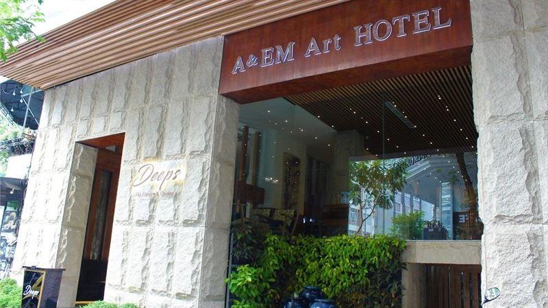 Giá phòng A&Em Art Hotel Sài Gòn quận 1