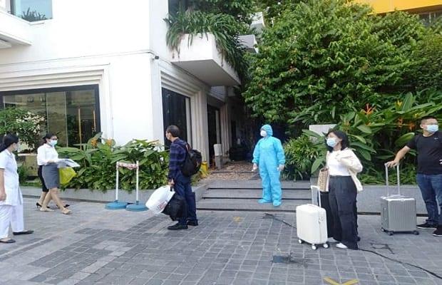 danh sách khách sạn cách ly tại Hồ Chí Minh cập nhật mới nhất đối tượng