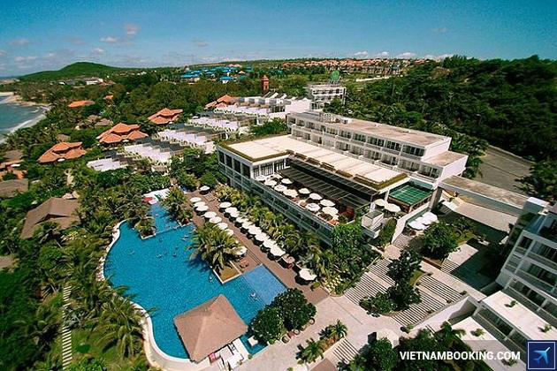 Review The cliff Resort Mũi Né - Khách san Phan Thiết được yêu thích nhất